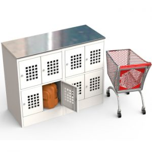 Шкаф для ручной клади ШМ-С 24-30 купить недорого в Екатеринбурге