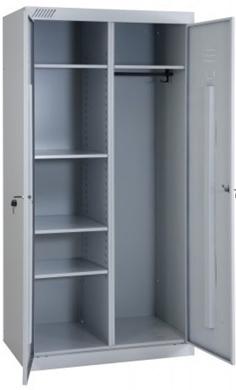 Шкаф для одежды ШМУ-22-530 (универсальный) металлический купить недорого