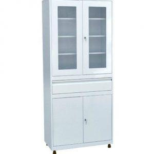 Медицинский шкаф для инструментов и медикаментов ШКВ-07 купить недорого в Екатеринбурге