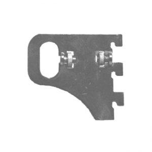 Кронштейн для овальной трубы Wall 266 M1890 купить недорого с доставкой